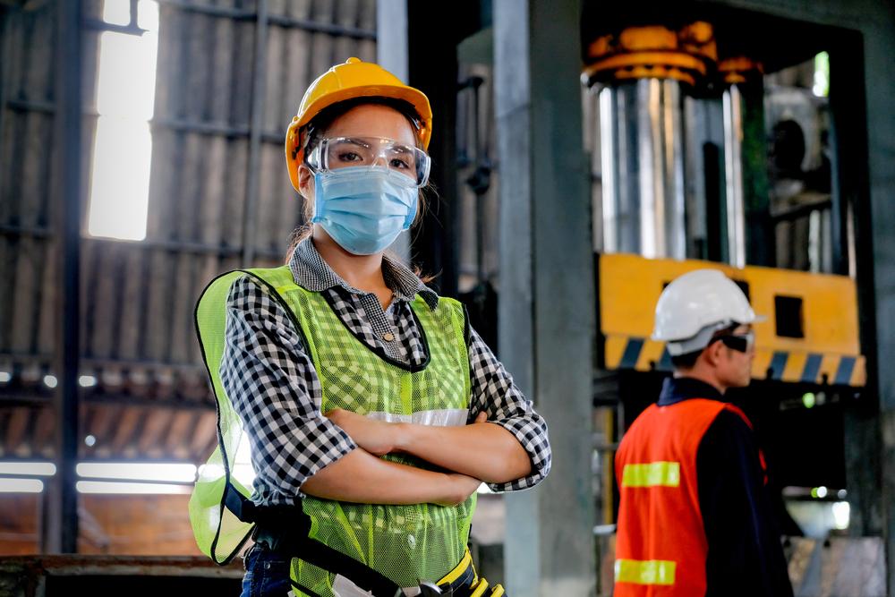 Factory Woman Worker
